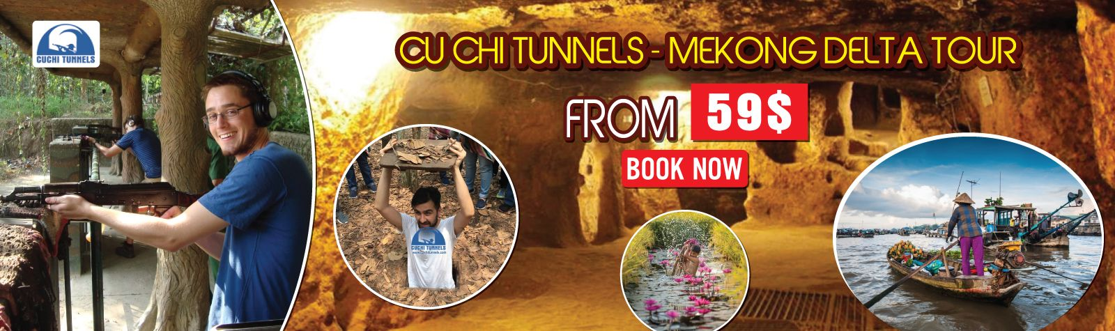 Cu Chi Tunnels Mekong Delta Tour Luxury Tour