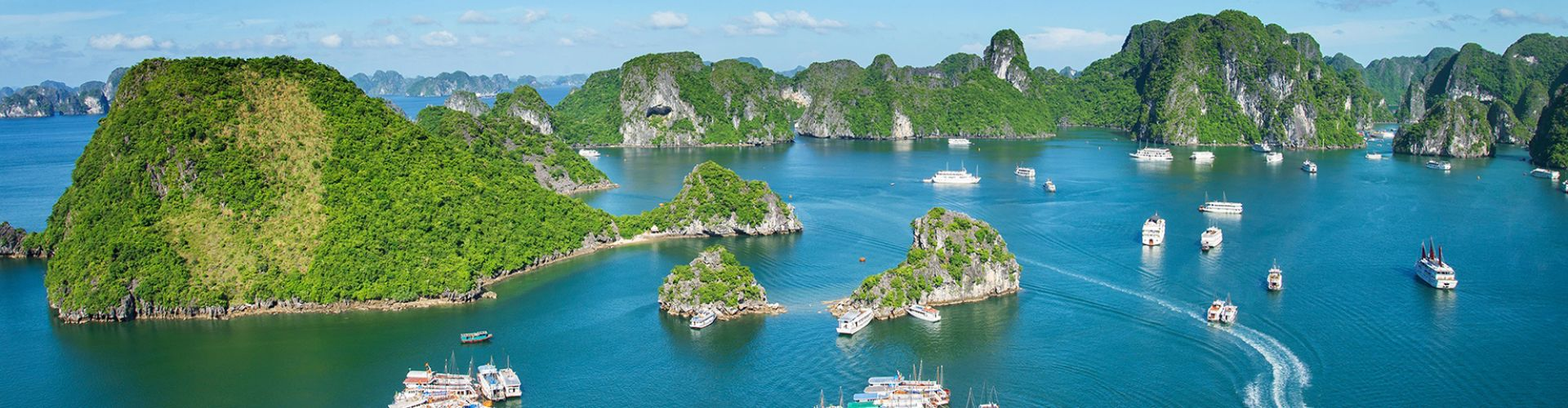 Destinations in Halong Bay City