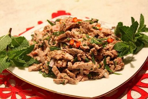 Larb (meat salad)