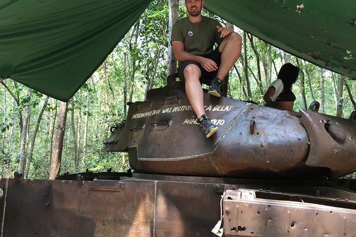 Classic Cu Chi Tunnels Luxury Group Tour (Boat & Boat)